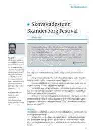 Skovskadestuen Skanderborg Festival - Get a Free Blog