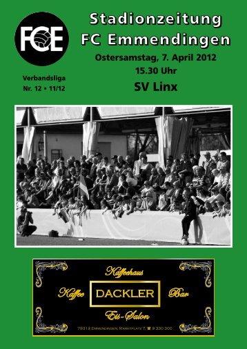 Wir gratulieren - FC Emmendingen 03