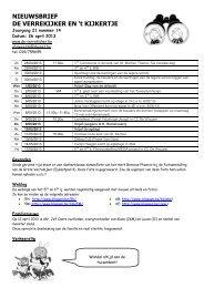 nieuwsbrief 26 april 2013.pdf - De Verrekijker Weelde