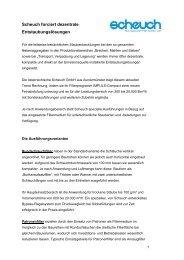Scheuch forciert dezentrale Entstaubungslösungen - Umwelttechnik ...