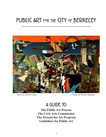 A guide to the public art process