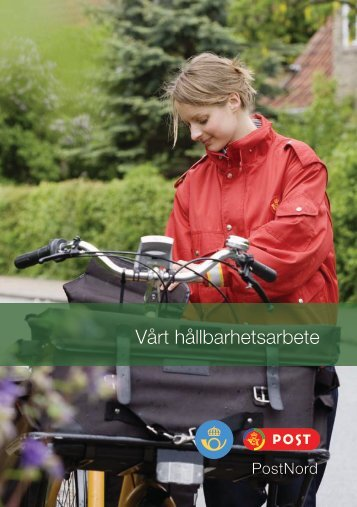 Hållbarhetsredovisning 2011 - PostNord