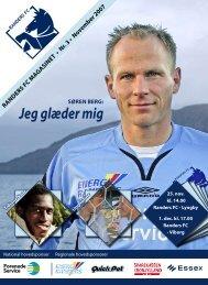november 2007 - Randers FC