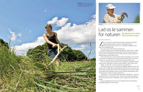 Naturelsker med le - Danmarks Naturfredningsforening