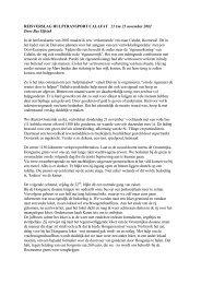 verslag hulptransport Calafat november 2002 - Stichting Duiven ...