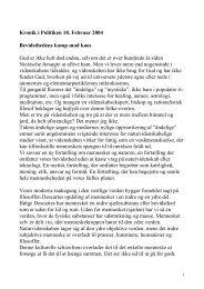 Bevidsthedens kamp mod kaos - Steen Relster om bevidsthed og en ...