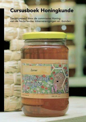 Cursusboek Honingkunde