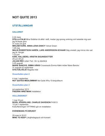 NOT QUITE 2013 - Basetool