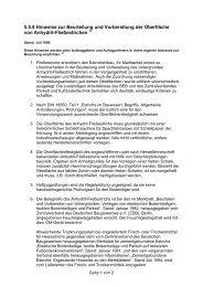 Hinweise zur Beurteilung und Vorbereitung der ... - Fichtner Estriche