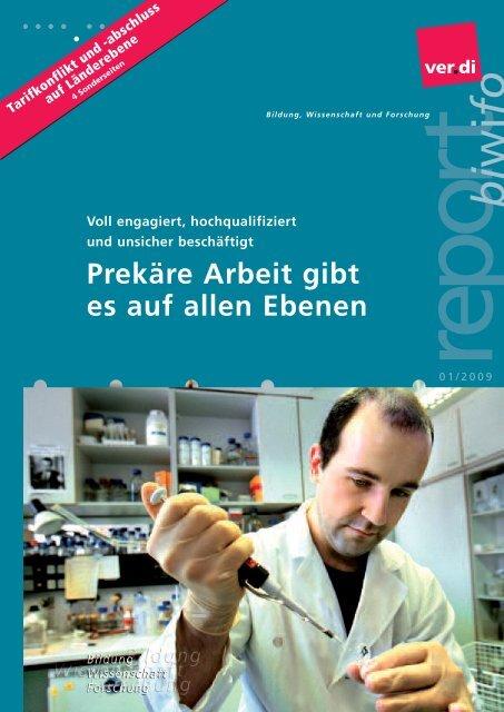 biwifo report 1/2009 (pdf-Datei) - Netzwerk Weiterbildung