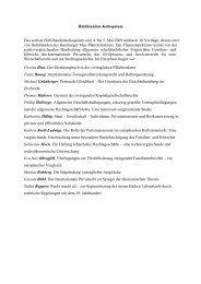 Bericht Habilitandenkolloquium 4. bis 5. Mai 2009 - Max-Planck ...