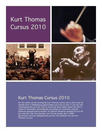 Kurt Thomas Cursus 2010 - KBZON