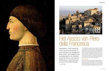 Halfvergeten in Oost–Toscane ligt Arezzo, dat in zijn sluimerende be ...