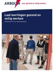 Download hier de brochure 'Gezond werken' - SWV ...