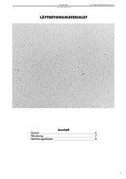 lättbetongmaterialet - Materials.dk