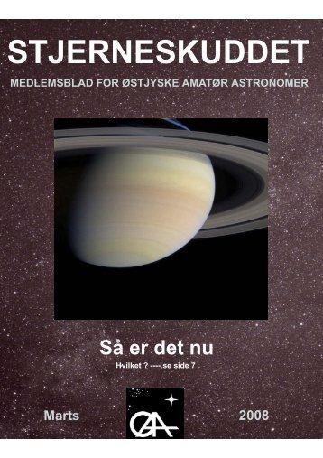 Marts - Østjyske Amatør Astronomer