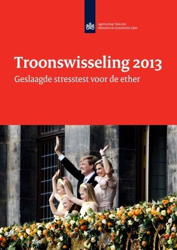 Troonswisseling 2013 - Agentschap Telecom