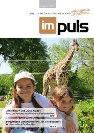 Impuls - 05 / 2012 - Freie Christengemeinde