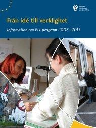 Från idé till verklighet - East Sweden EU-kontoret