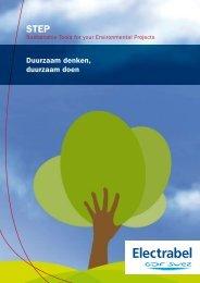Duurzaam denken, duurzaam doen - Electrabel