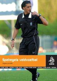 KNVB Spelregels veldvoetbal - Groen Wit´62