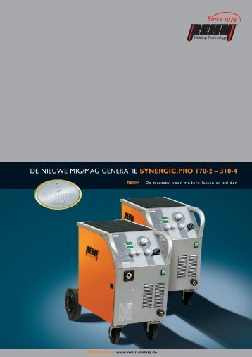 Folder NL Synergic 170-310 - PRRE Lastechniek