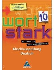 Abschlussprüfung Deutsch in Hessen und im Saarland