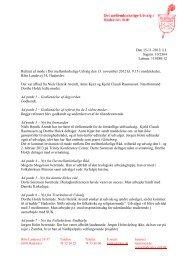 13. november 2012 - Haderslev Stift