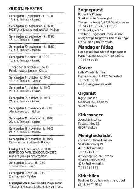 Stokkemarke.dk