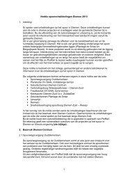 Notitie spoorontwikkelingen - Gemeente Diemen