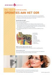 Ooroperaties - Jeroen Bosch Ziekenhuis