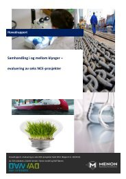 Last ned evalueringen av seks NCE-prosjekter 2012 (pdf)