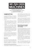 we zijn geen machines - Schone Kleren - Page 4