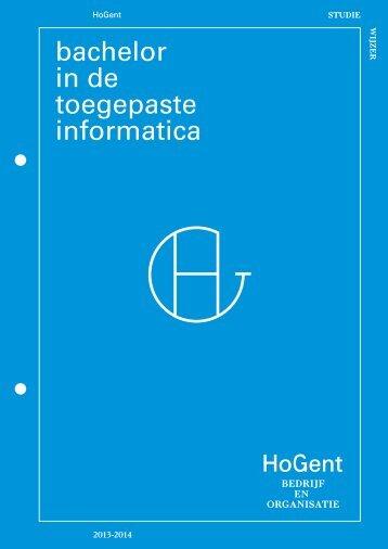 brochure downloaden (pdf) - Faculteit Bedrijf en Organisatie