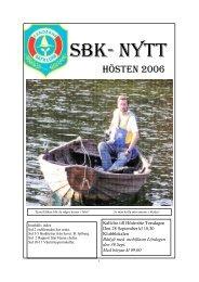 SBK-Nytt 2006.Nr.4 - Sandarne båtklubb