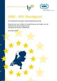 VNG - IPO Standpunt - Europa decentraal