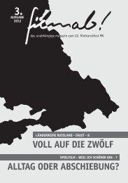 ALLTAG ODER ABSCHIEBUNG? - filmab.jmmv.de - Magazin und ...