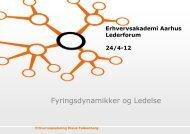 Se Klaus Falkenbergs præsentation - Erhvervsakademi Aarhus