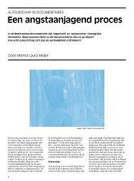 Menna Meijer – Een angstaanjagend proces - Mediafonds