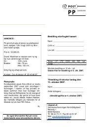 Page 1 På grund af salg af skove og juletræskul- turer, sælges 1 stk ...