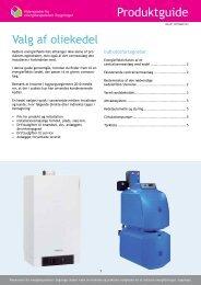Valg af oliekedel - Videncenter for energibesparelser i bygninger