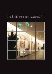 Lichtlijnen en basic TL - Maas en Hagoort lampen