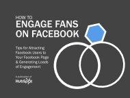 ENGAGE FANS ON FACEBOOK - HubSpot