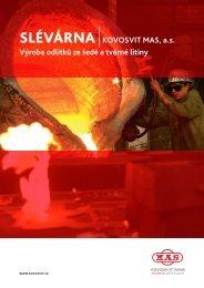 Slévárna |kovosvit mas, a.s. výroba odlitků ze šedé a tvárné litiny