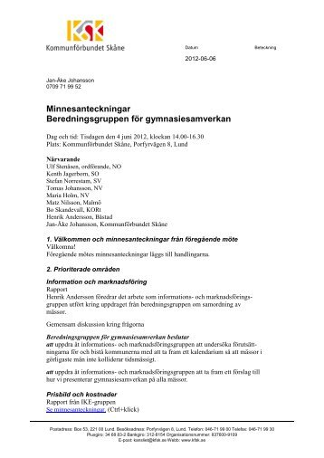 Minnesant beredngr gy 120604.pdf - Kommunförbundet Skåne