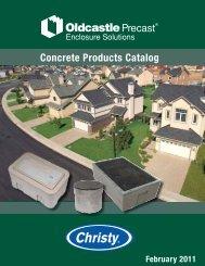 Concrete Products Catalog - Oldcastle Precast