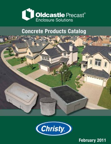 Concrete Products Catalog - Oldcastle Precast
