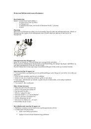 Øvelse med Reflekterende team (60 minutter) Kort beskrivelse ...