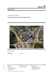 Trafikutredning (PDF, 3 324 KB) - Botkyrka kommun