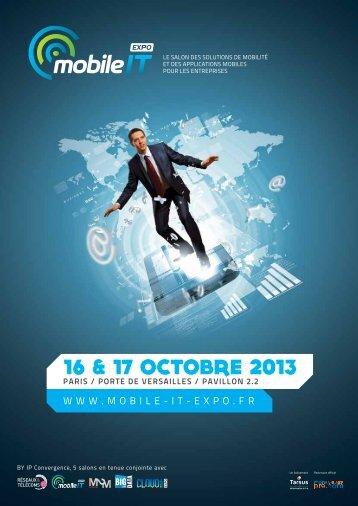 Téléchargez la Plaquette - Mobile IT Expo